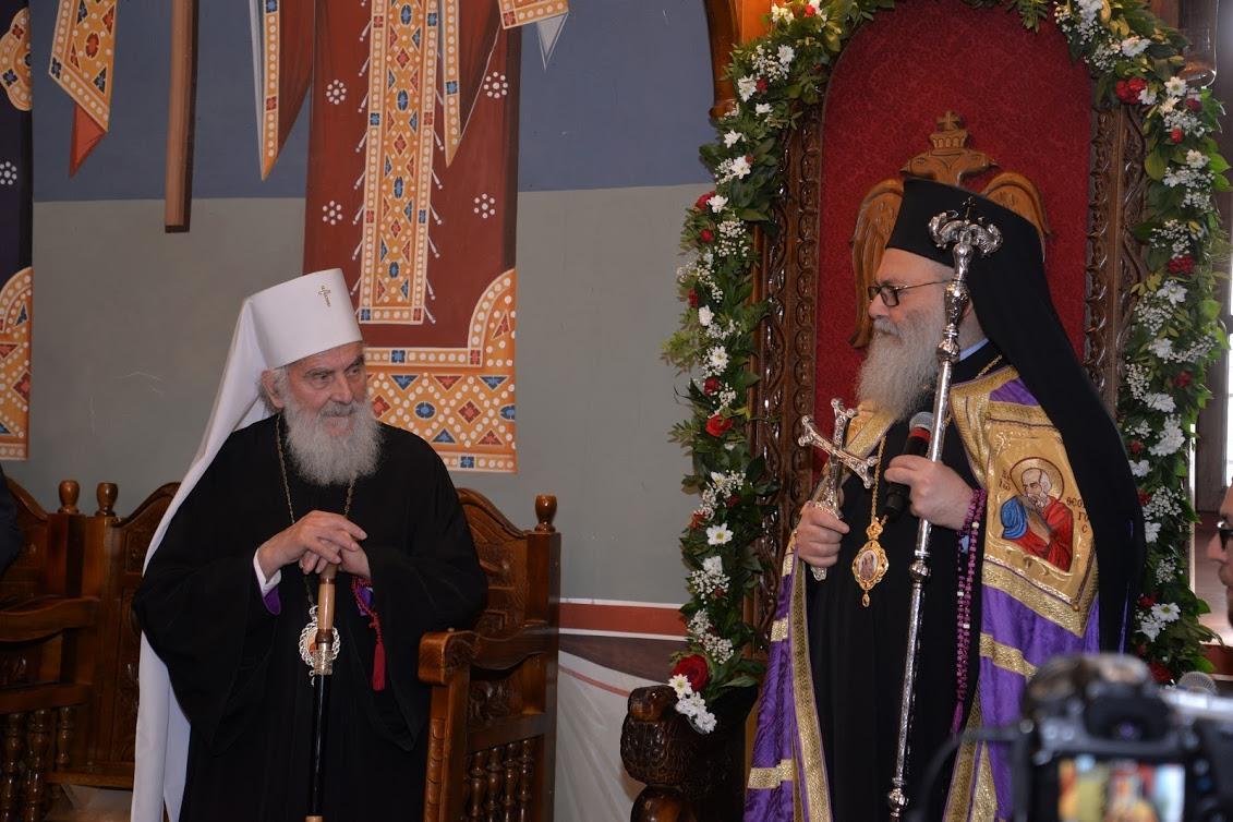 Предстоятели Антиохийской и Сербской Церквей/ pravlife.org