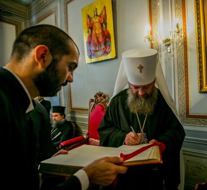 Управляющий делами УПЦ принял участие в торжествах Болгарской Православной Церкви / facebook.com/MitropolitAntoniy