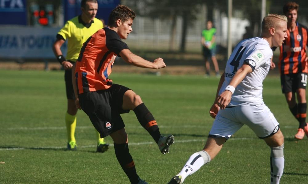 Андрій Кулаков відкрив рахунок у матчі Шахтаря і Манчестер Сіті / shakhtar.com