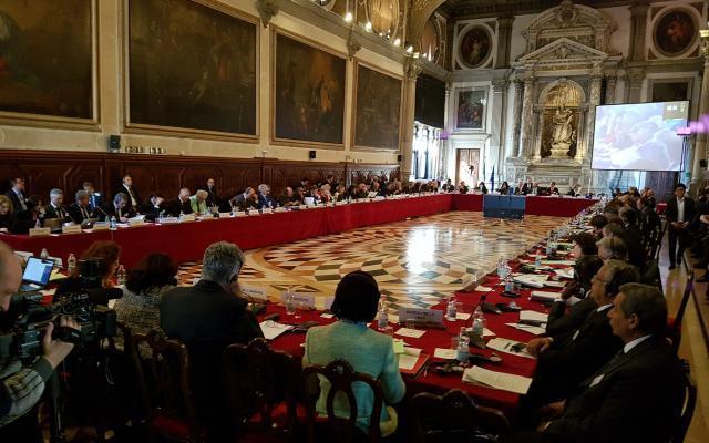 """""""Венецианка"""" раскритиковала языковой закон / фото unba.org.ua"""