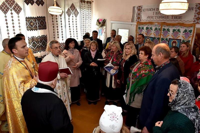 Гостям представили музей блаженного Зенона Ковалика / tze.org.ua
