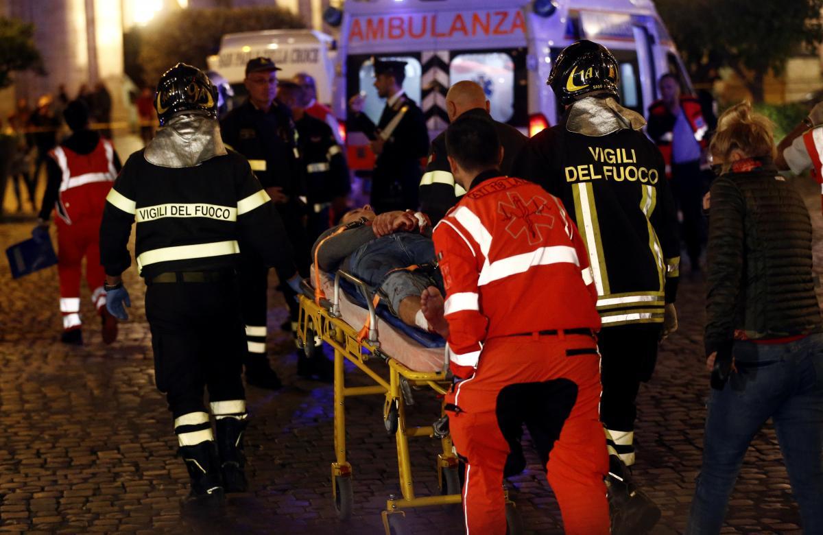 ЧП в Риме / REUTERS