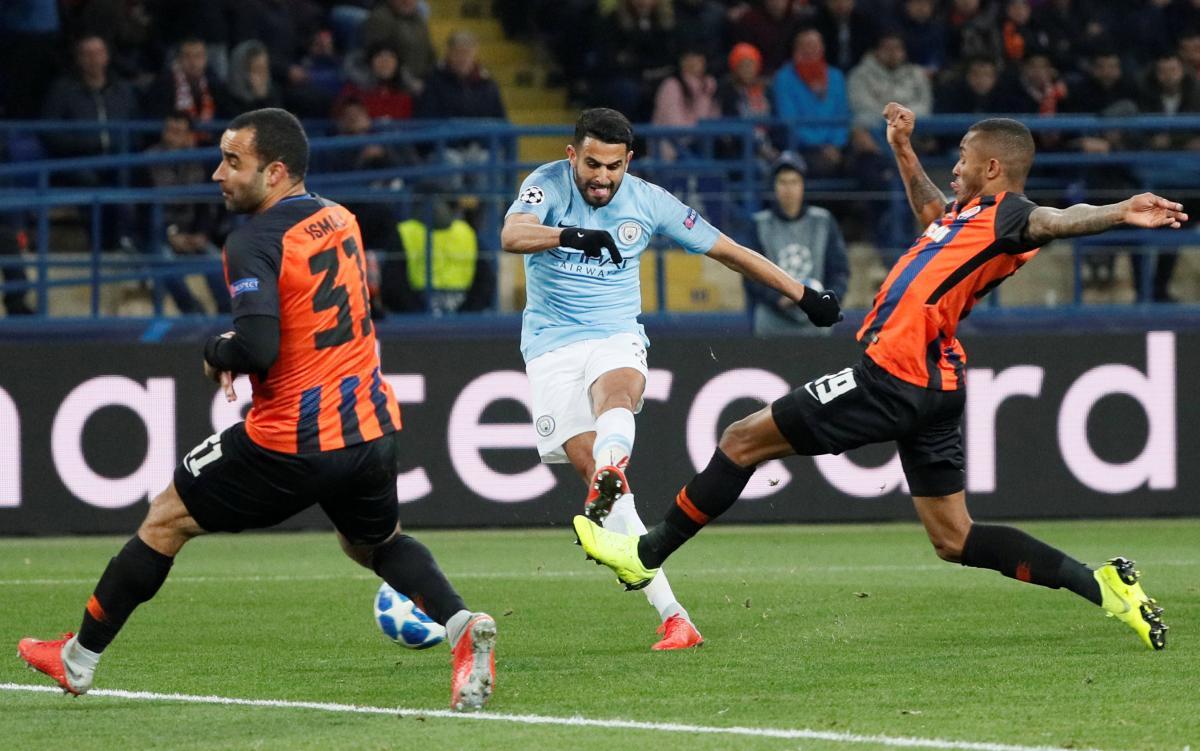 Шахтер накануне проиграл английскому Манчестер Сити в Лиге чемпионов / Reuters