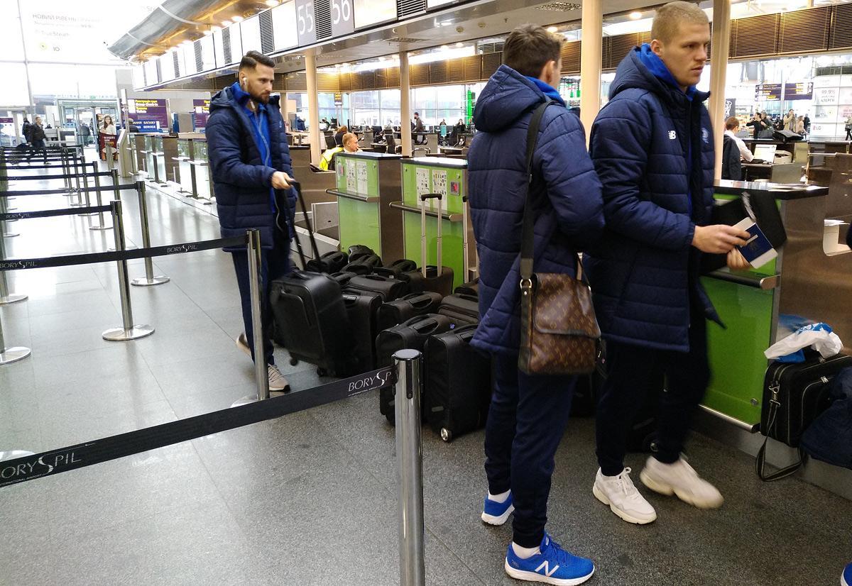 Во Францию отправился 21 игрок киевского Динамо / dynamo.kiev.ua