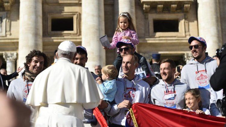 Папа на общей аудиенции / vaticannews.va