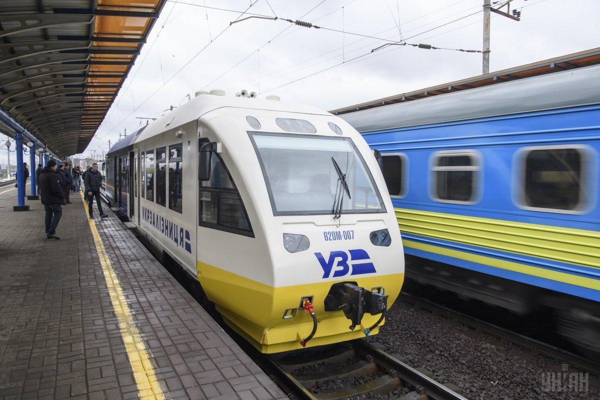 Поезд из Киева в аэропортБорисполя планируют запустить уже в конце ноября / Фото УНИАН