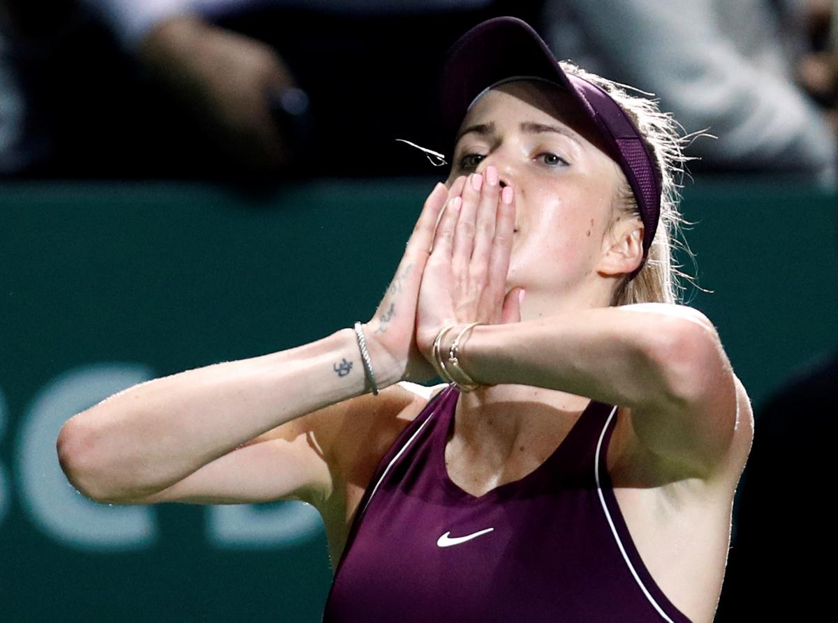 Элина Свитолина стала полуфиналисткой Итогового турнира WTA / REUTERS