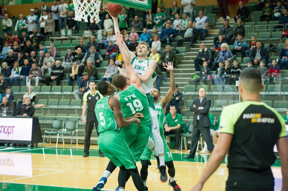Хімік програв Запоріжжю в матчі баскетбольної Суперліги / fbu.ua