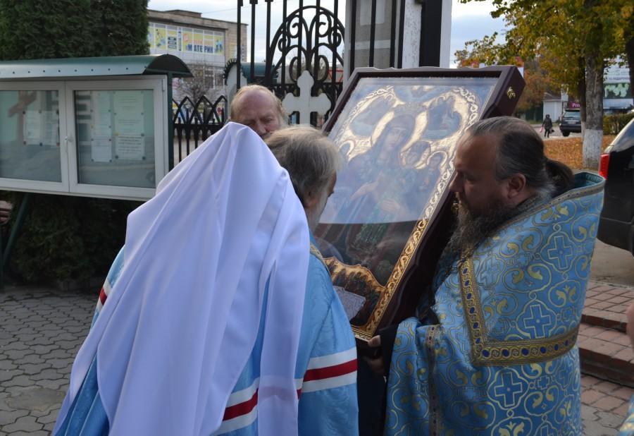 Икона Богородицы будет находиться в соборе до 1 ноября / eparhia-uman.org.ua