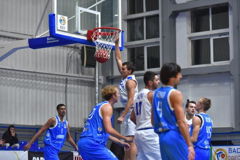 Одеса перемогла Запоріжжя в матчі баскетбольної Суперліги / fbu.ua