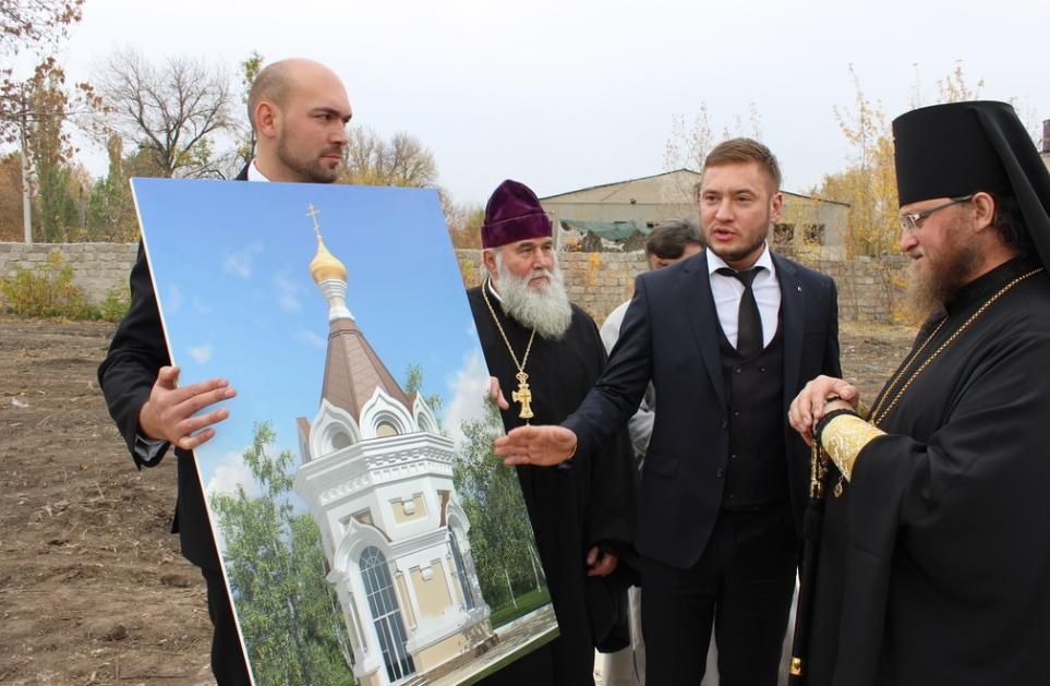 В Попасной построят православный храм / sed-eparhia.com