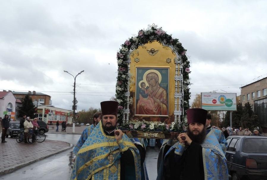Православные Черниговщиныпочтили Иерусалимскую икону Божьей Матери / orthodox.cn.ua