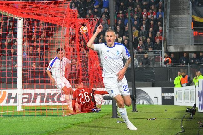 Буйльский забил победный гол в Ренне на последней минуте игры / fcdynamo.kiev.ua