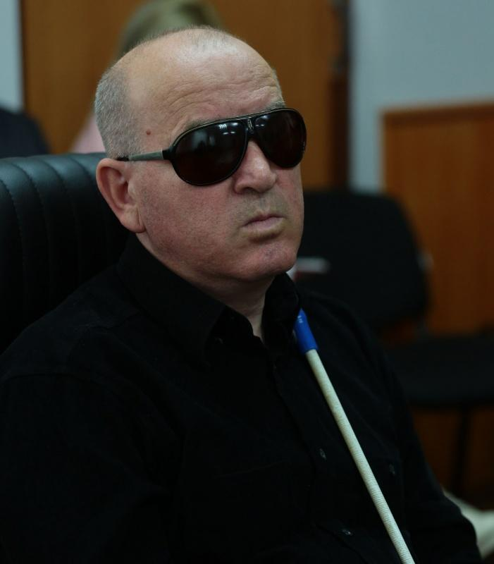 Голова профспілки Херсонського УТОС Обертайло Владислав / фото socpartia.com