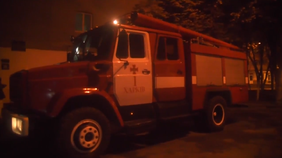 В Харьковском общежитии произошел пожар / фото kharkiv.dsns.gov.ua