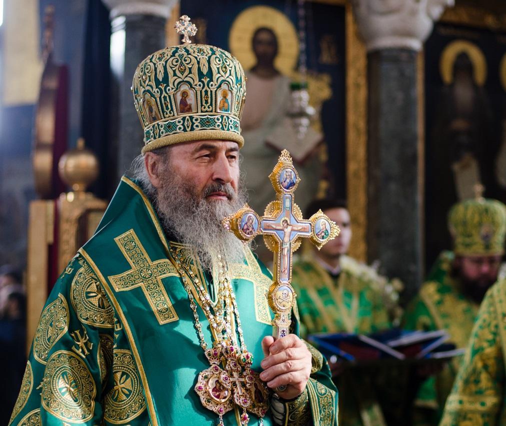 Митрополит Онуфрий обратился с духовным наставлением к зрителям / news.church.ua