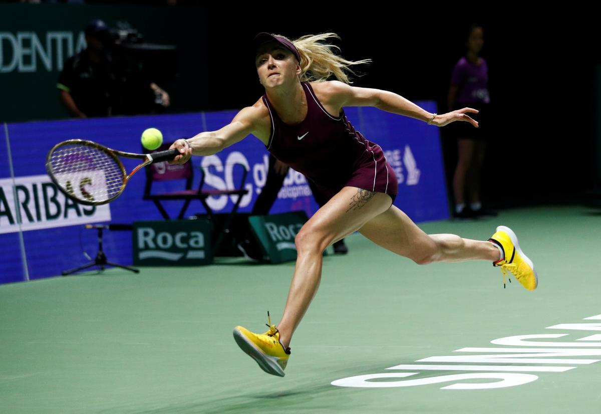 Элина Свитолина вышла в финал Итогового турнира WTA-2018 / Reuters
