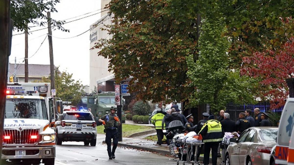 Инцидент в синагоге Питтсбурга произошел утром в субботу / foxnews.com