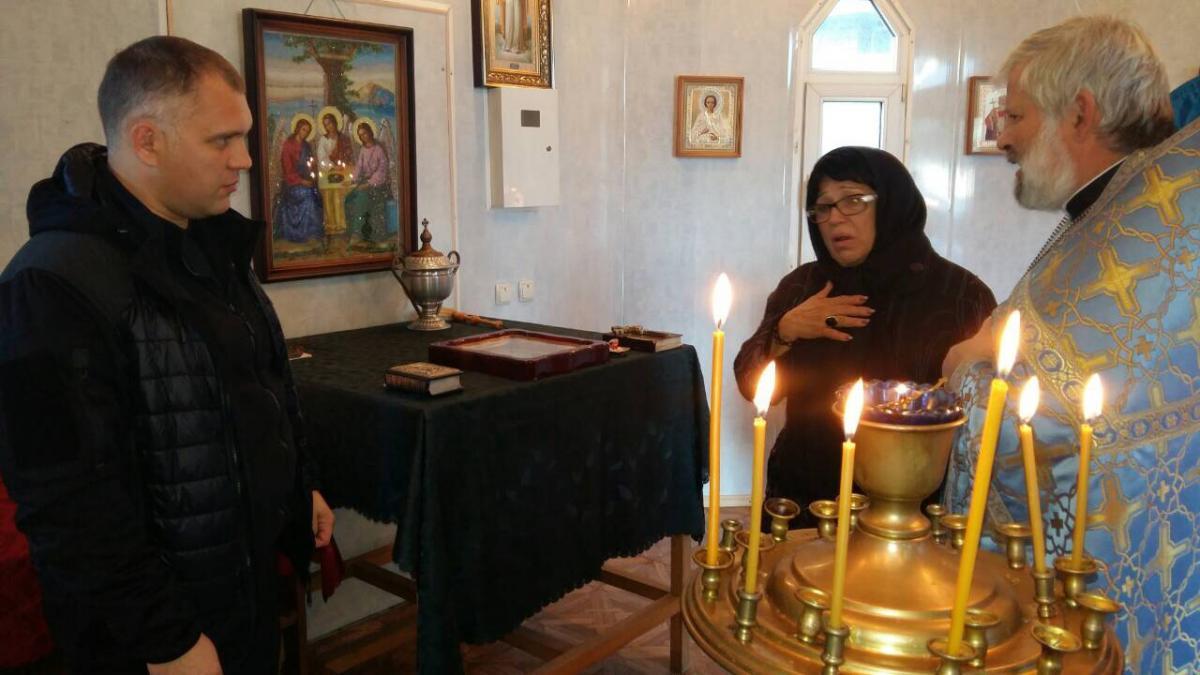 У Києві помолилися за загиблими поліцейськими / mitropolia.kiev.ua