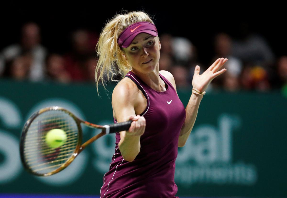 Элина Свитолина выступит в январе на турнире в Брисбене / REUTERS