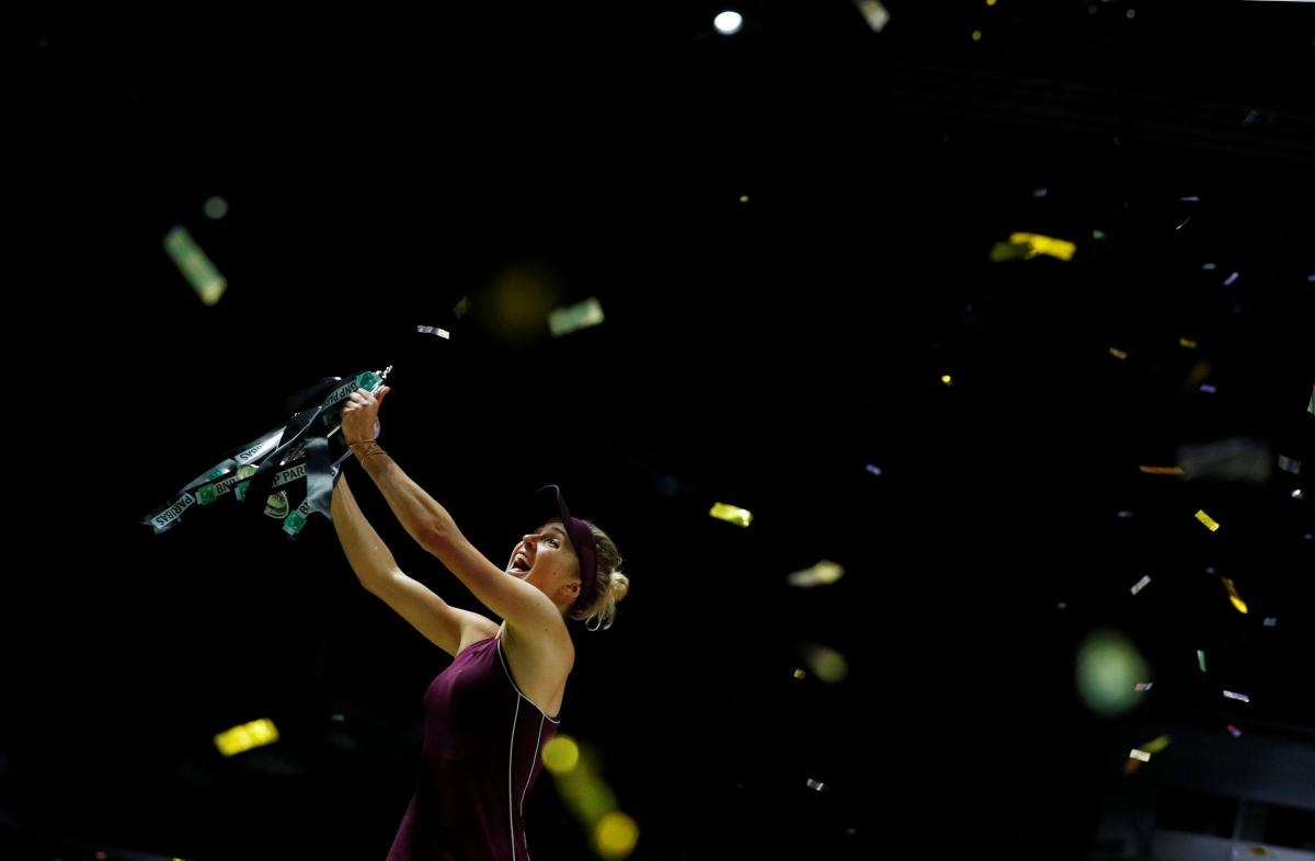 Воскресная победа предполагает принципиально новые цели – триумфы и титулы соревнований серии Большого шлема / REUTERS