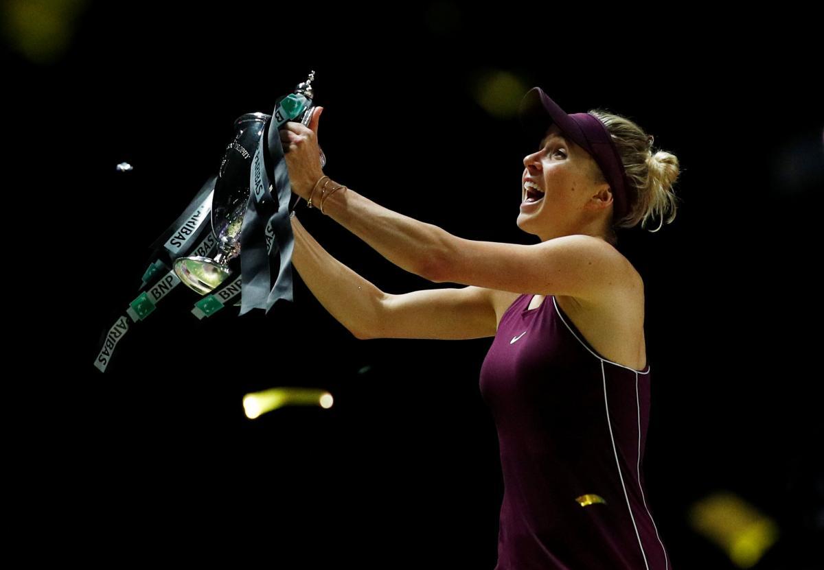 Элина Свитолина провела первый матчпосле победы на Итоговом турнире-2018 / REUTERS