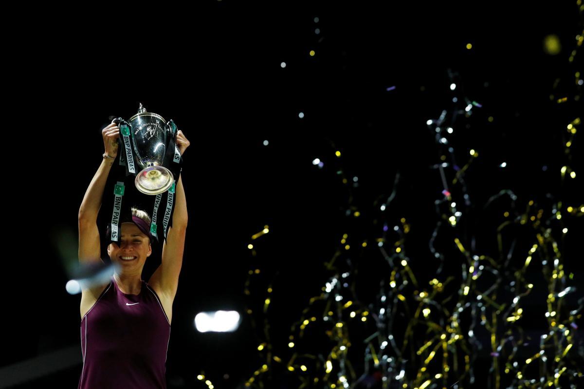 Свитолина выиграла в этом году Итоговый турнир WTA-2018 / REUTERS