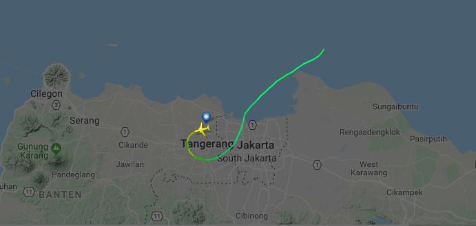 Связь с бортом пропала через 13 минут после вылета / flightradar24.com