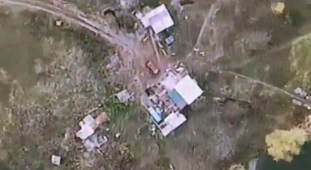 В результате мощного ответа ВСУ были убиты трое оккупантов / скриншот
