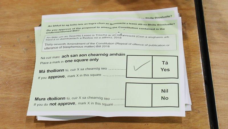Ірландії приберуть з конституції статтю / rte.ie