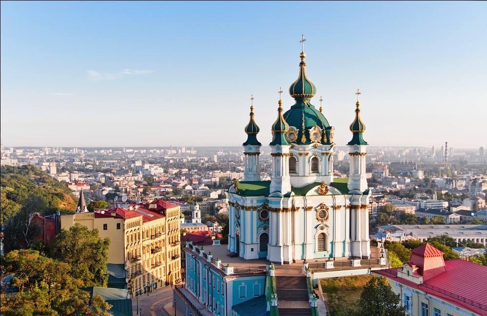 Андреевская церковь, иллюстрация / kiev.zagranitsa.com