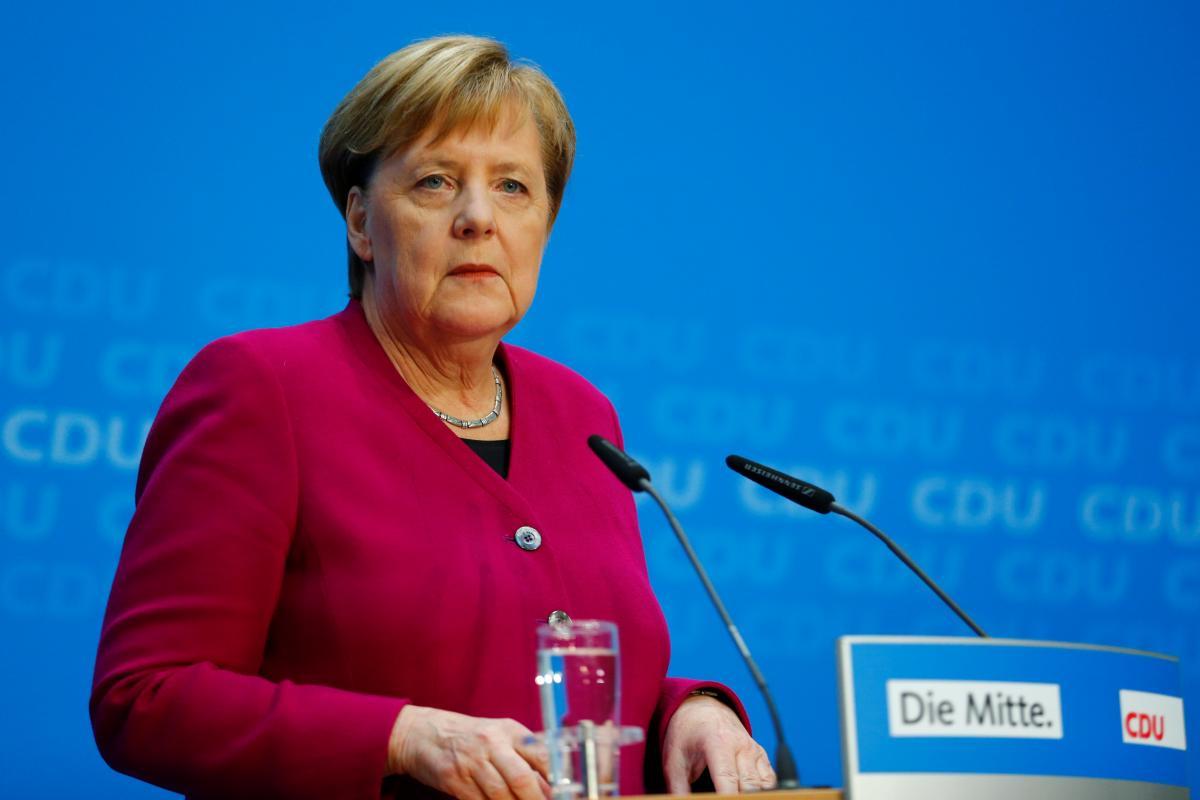Angela Merkel / REUTERS