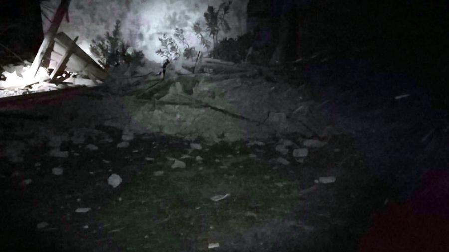 Церковь XIII века в Строфадии была повреждена в результате землетрясения / imerazante.gr