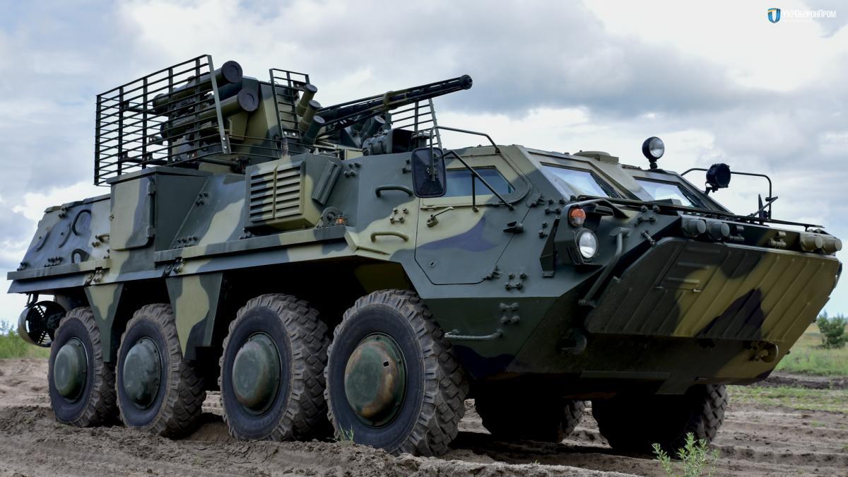 ЗСУ передали БТР-4 з нової вітчизняної бронесталі/ фото ukroboronprom.com