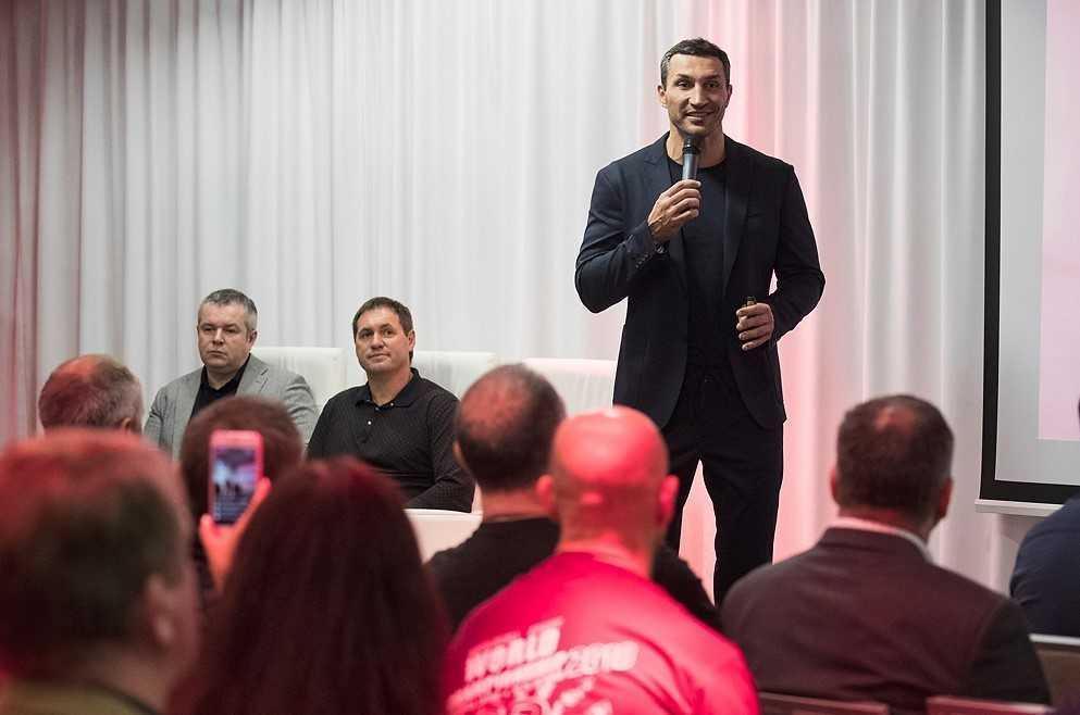 Презентация состоялась в помещении выставки-музея достижений братьев Кличко / фото kiev.klichko.org