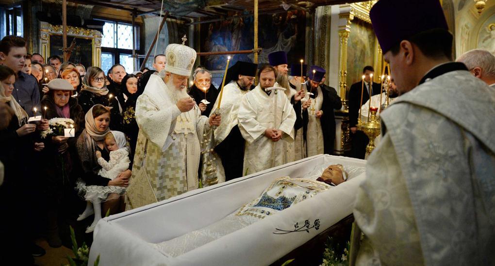 Николай Караченцов скончался 26 октября / foto.patriarchia.ru
