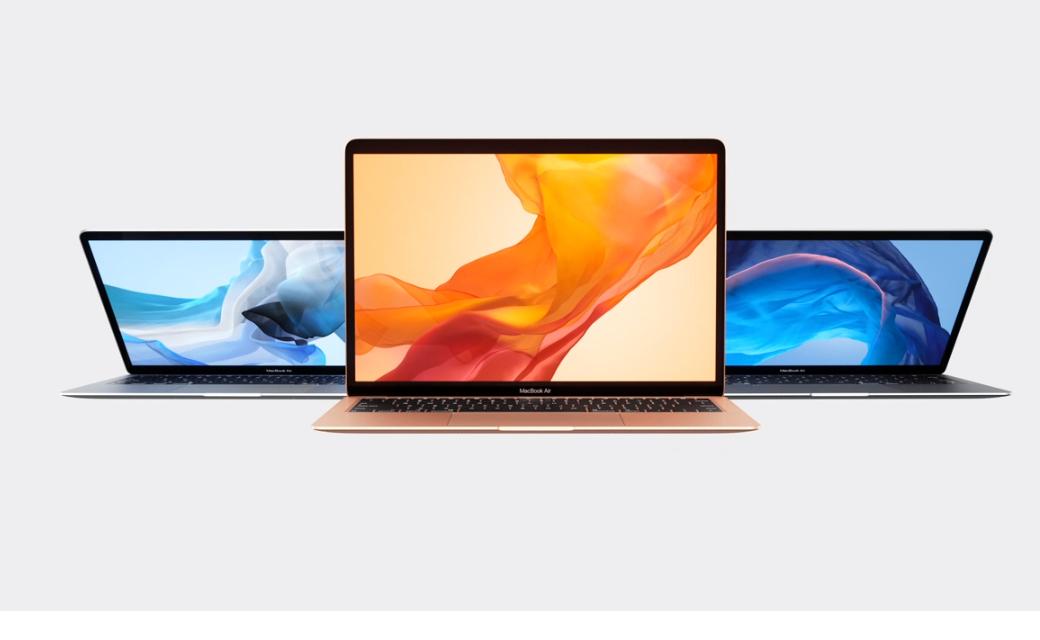 Apple представила новый Macbook Air / скриншот