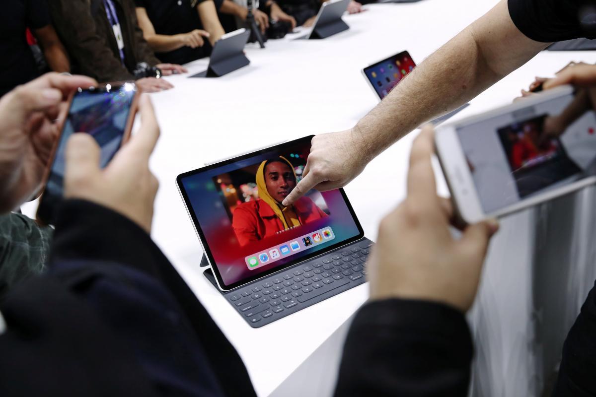 Новый iPad от Apple / REUTERS