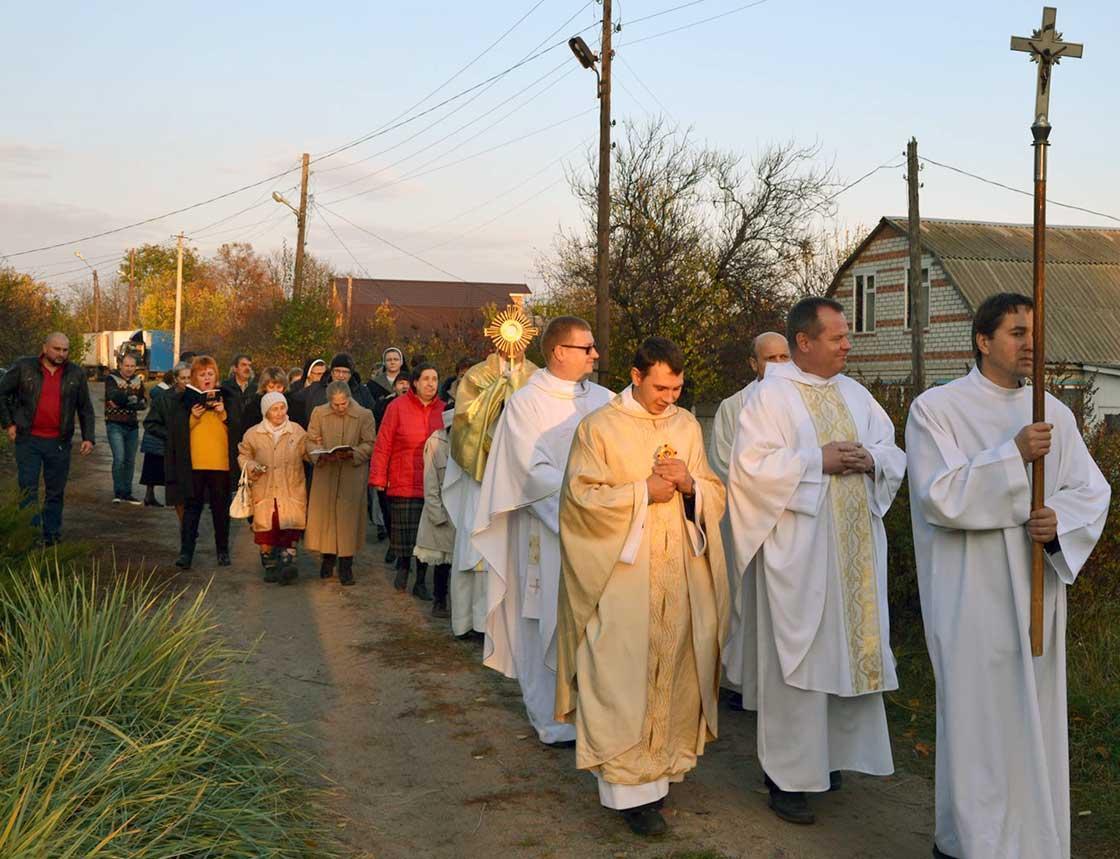 В урочистості взяли участь харківські священики / rkc.in.ua