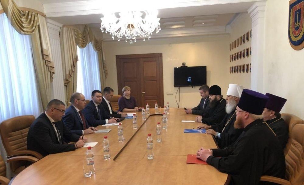 В Одесской ОГА провели круглый стол по проблемам церковно-государственных отношений / eparhiya.od.ua