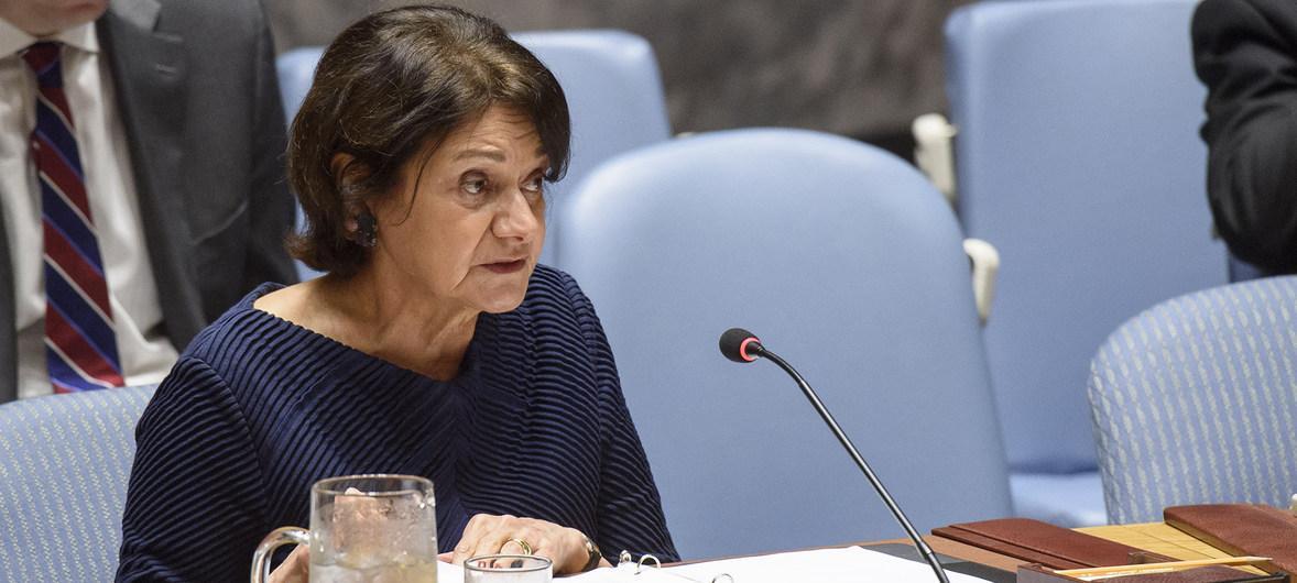 Розмари Дикарло призвала все стороны на Донбассе выполнить Минские соглашения / фото un.org