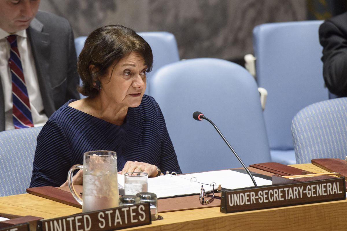 Rosemary DiCarlo / Photo from UN Photo/Loey Felipe