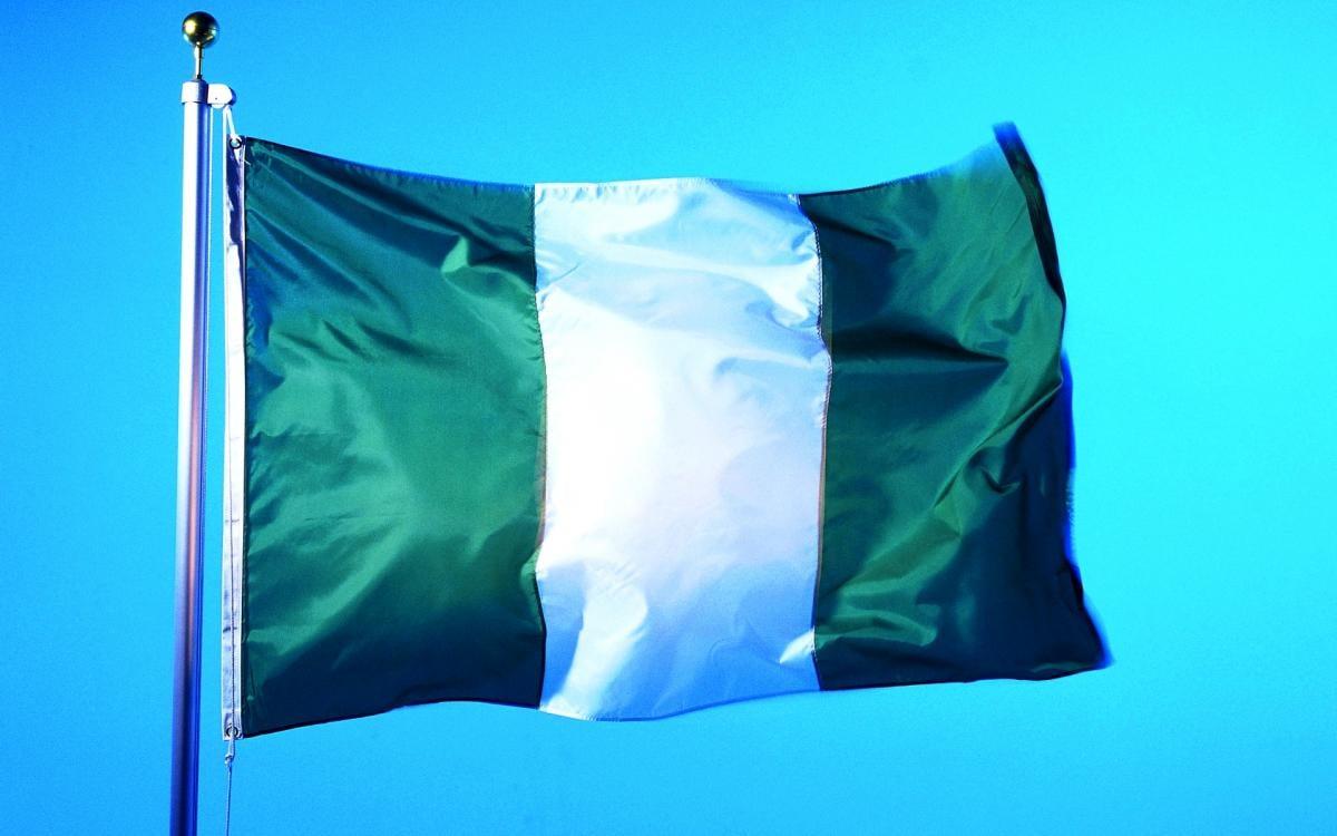 Флаг Нигерии, иллюстрация / kartinki24.ru