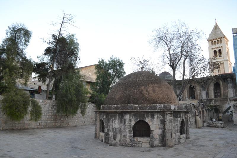 Монастир Дейр-ес-Султан / trassa.narod.ru