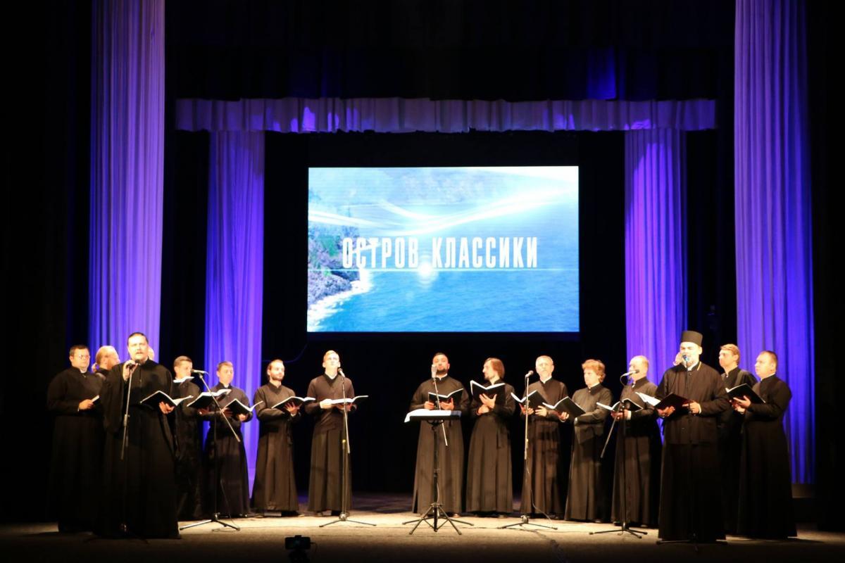 В Днепре выступил монашеский хор Свято-Троицкого Ионинского монастыря / eparhia.dp.ua