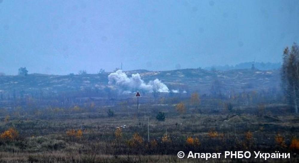 Рада національної безпеки та оборони України показала відео випробувань  нового українського 120-мм мобільного мінометного комплексу