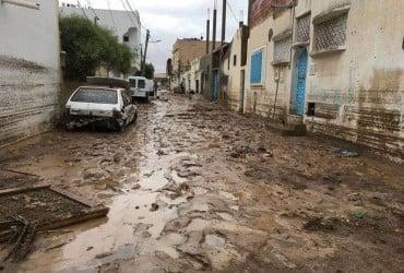 В Тунисе из-за ливня погибли пять человек