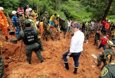 Жертвами схода оползня в Колумбии стали девять человек