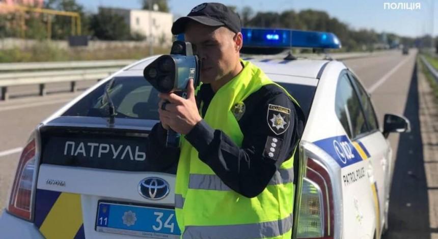 Сегодня полиция начинает штрафовать водителей за превышение скорости (видео)