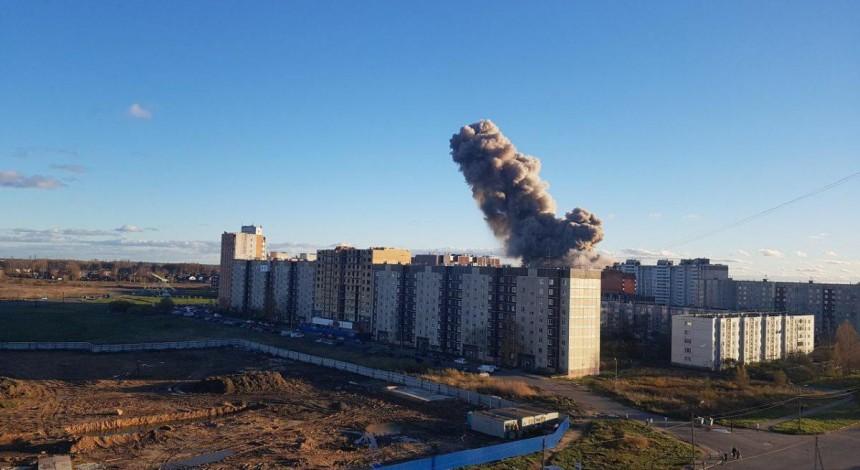 Two dead in fireworks factory blast near Russia's St Petersburg (Photo, video)